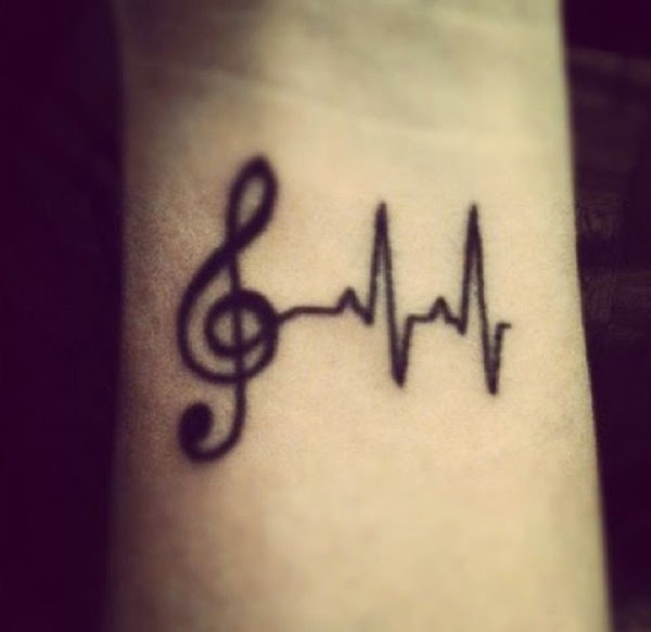 small music note tattoos (6)