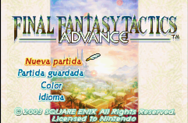 Final Fantasy Tactics Advance - Español - Captura 4
