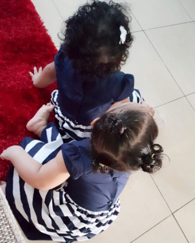 Nadia Buari's mother, Caddy shows off her grand children