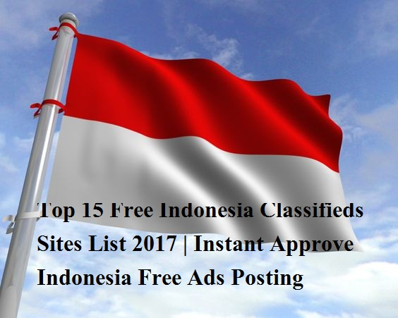 Top 50 Free Indonesia Classifieds Sites List 2019   Best