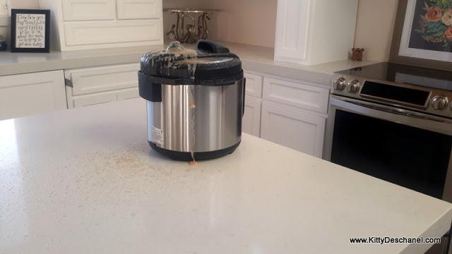 Instant Pot Explosion - After