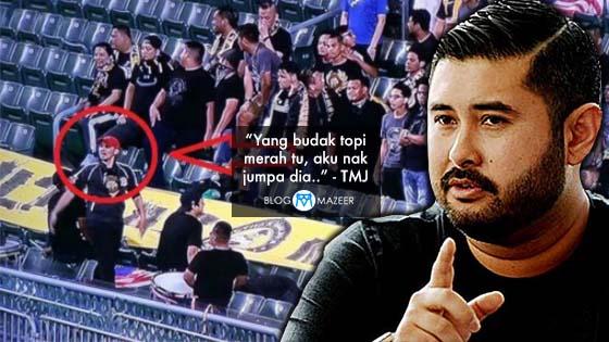 TMJ Mahu Jumpa Lelaki Topi Merah Selepas Terdengar Chant Ultras 'FAM Bangsat' Di Hong Kong