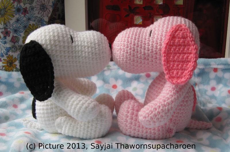 Snoopy Amigurumi Amigurumi Häkelanleitungen Von K And J Dolls