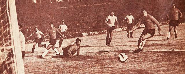 Uruguay y Chile en Campeonato Sudamericano de 1967