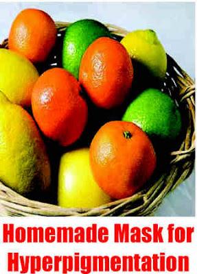 Homemade Mask for Hyperpigmentation