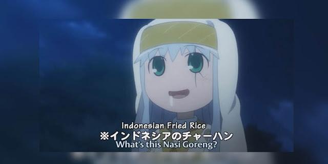 Unsur Indonesia yang terdapat pada anime To Aru Majutsu no Index