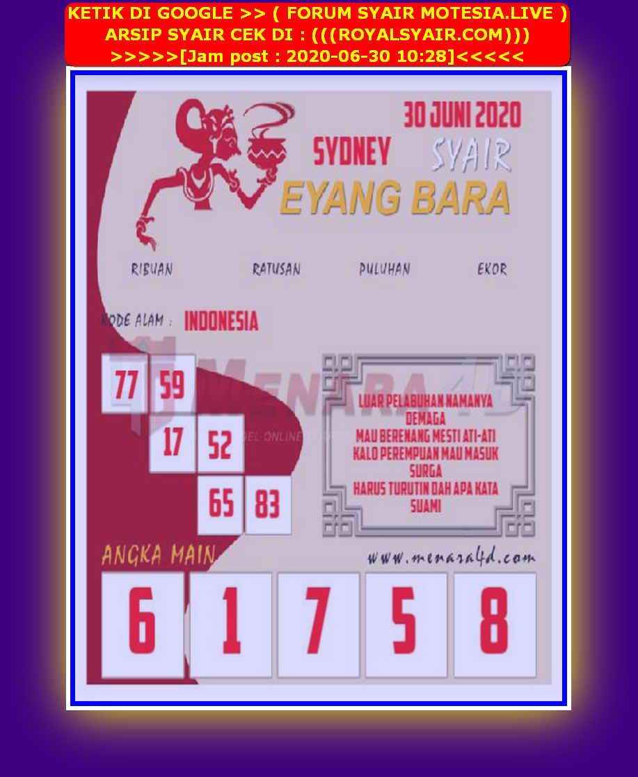 Kode syair Sydney Selasa 30 Juni 2020 176