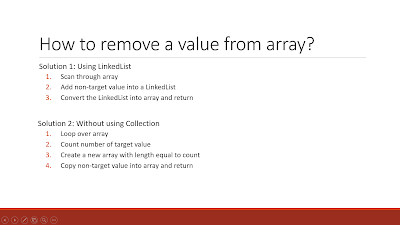 2 ways to remove an element from array in Java