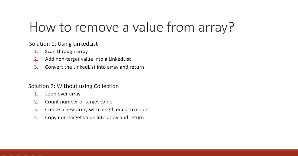 How to Remove an Element from an Array in Java? | Java67