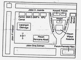 Image Result For Contoh Denah Lokasi