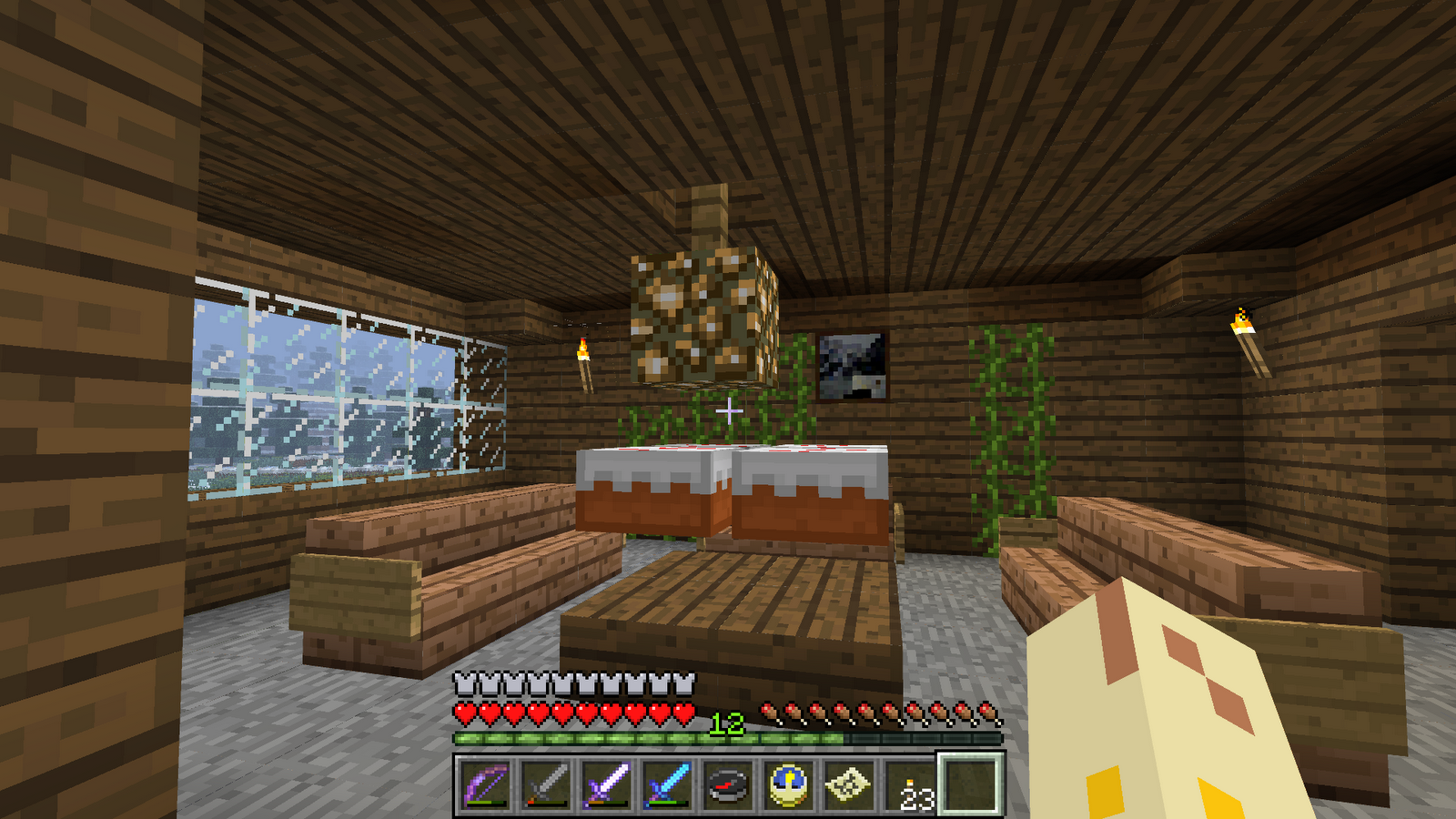 $D@nik's Day$ : My awesome minecraft house!!!!