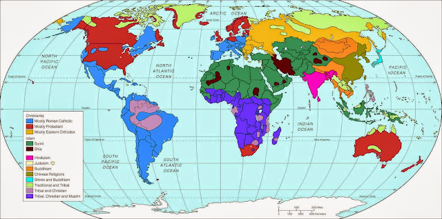 Religious faith geography accident picture