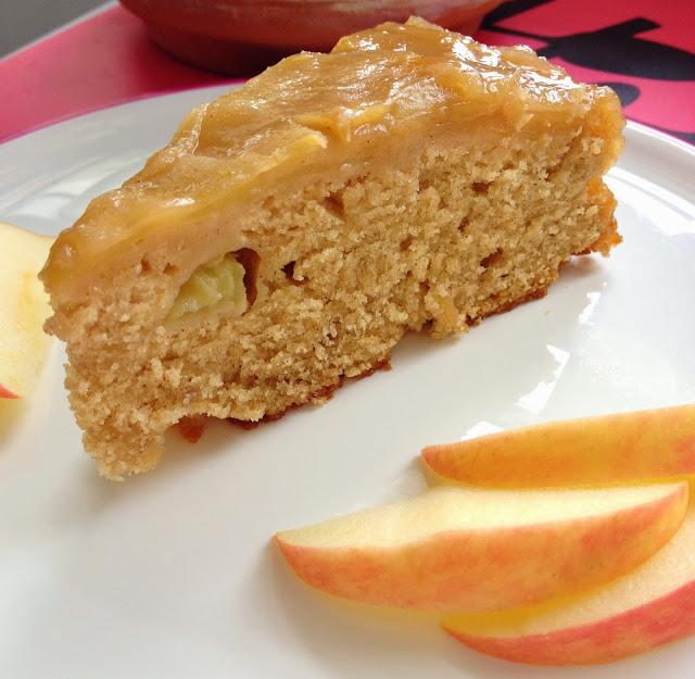 Sweet Kwisine, gâteau, gâteau renversé, pommes, sirop d'érable, Ricardo