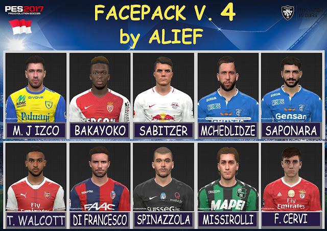 PES 2017 Facepack V. 4