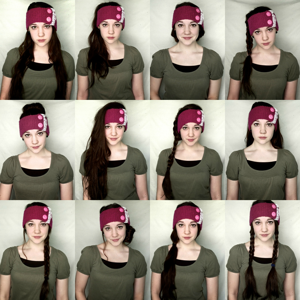 Lexalex 13 Ways To Wear A Knit Headband