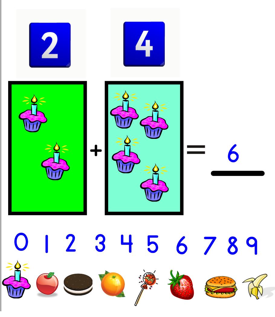 addition smartboard games for kindergarten