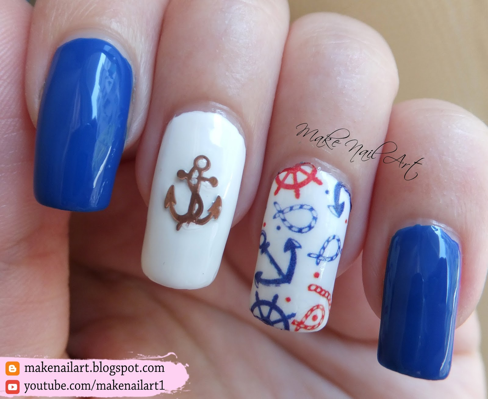 how to make water decals for nails