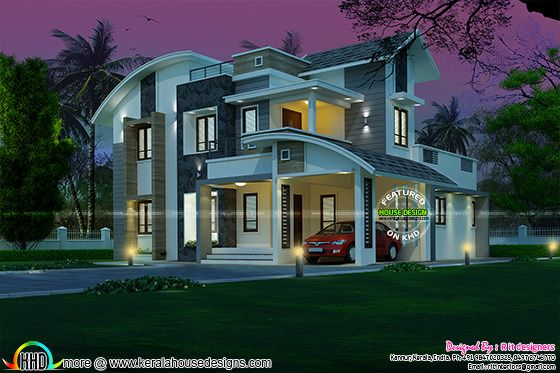 3 bedroom 2250 sq-ft house 48 lakh cost