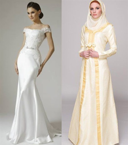 Wedding Dress Modern Macam Macam Gaun Modern