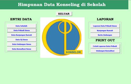 Himpunan data Konseling di Sekolah