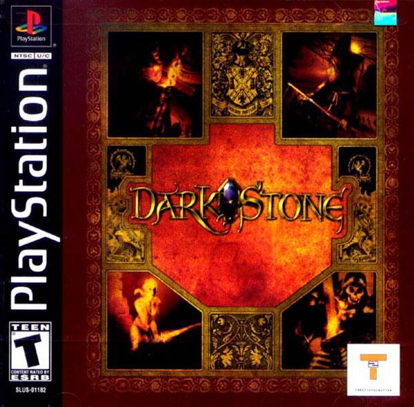 Darkstone - PSX - Portada