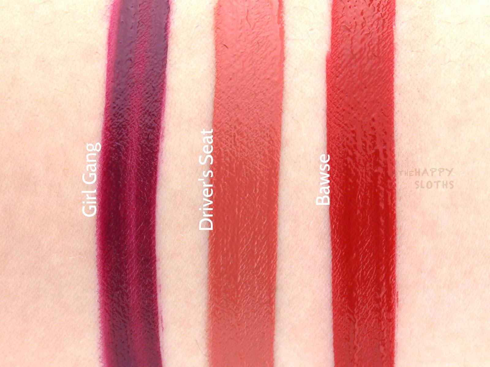Smashbox Always On Liquid Lipstick Drivers Seat Travel