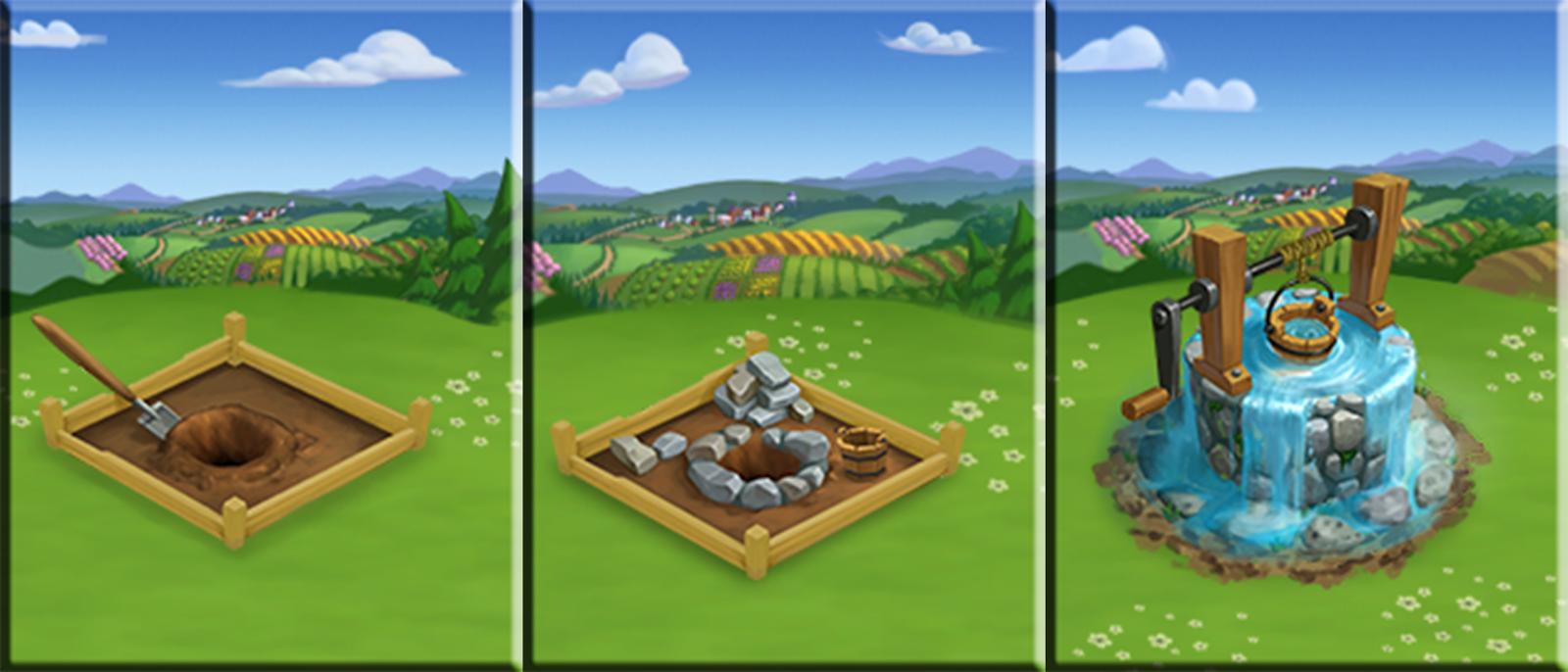 Build your Wonder Well! - FarmVille 2