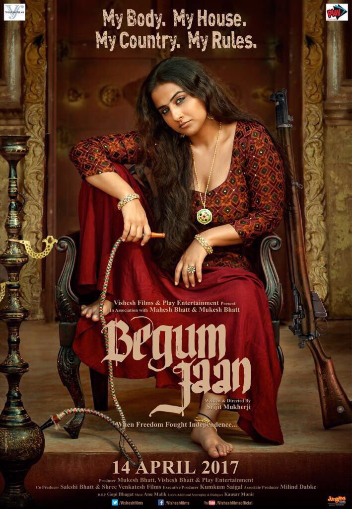 Begum Jaan First Look Poster