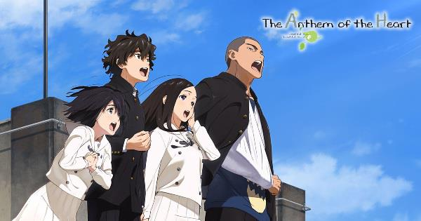 The Anthem of the Heart (Kokoro ga Sakebitagatterunda.) - Top Best anime by A-1 Pictures List