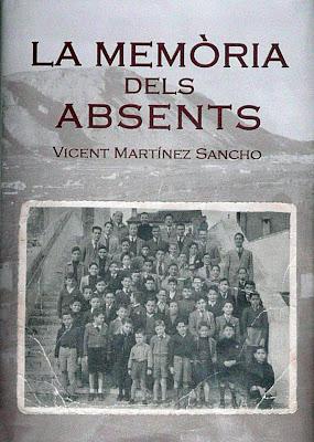 """""""La memòria dels absents"""" un llibre de Vicent Martínez i Sancho"""