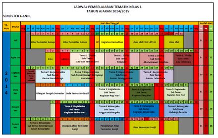 Download Aplikasi Jadwal Pelajaran Berwarna Untuk Semua Jenjang