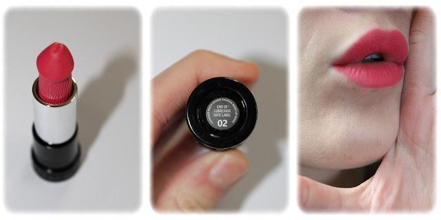 Swatch Lipstick Evil Mushroom Design - Teinte 02