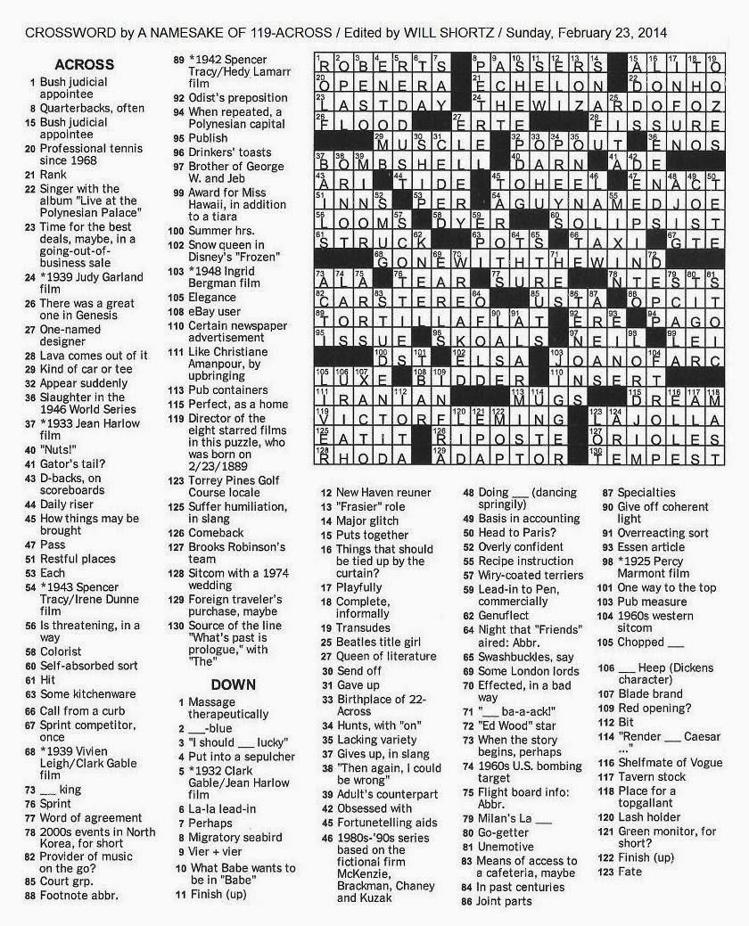 picture regarding Nyt Sunday Crossword Printable titled Fresh new york Occasions Sunday crossword Reserve zhouqin Burnikel