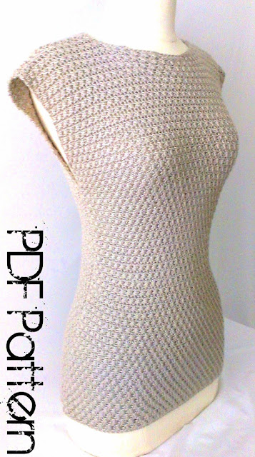 sleeveless top Crochet pattern
