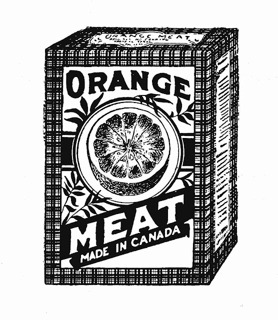 Orange Meat cereal 1906 Canada