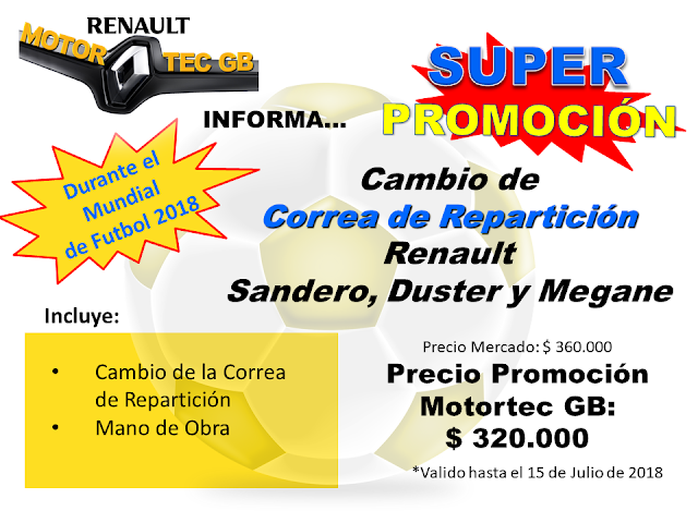 Cambio de Correa de Reparticion Renault