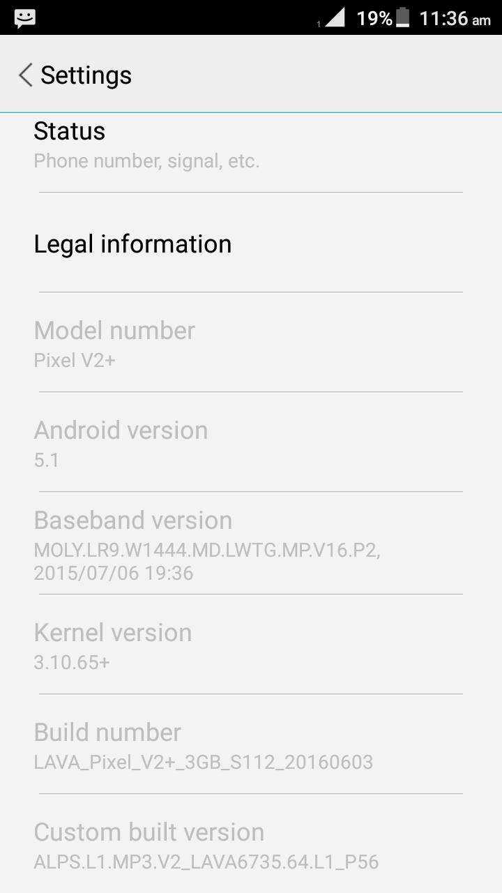 UBAIDULLAH IT: Lava Pixel V2+ Firmware 3GB Ram 100% ok