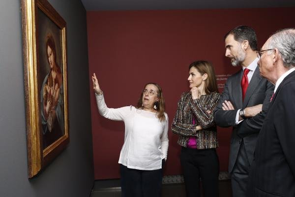 King Felipe and Queen Letizia visits Zaragoza