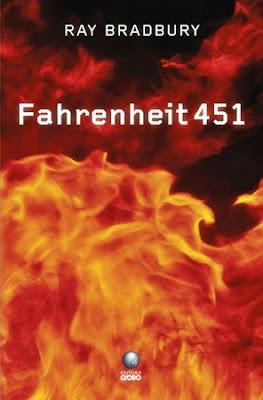Capa do livro Fahrenheit 451Editora Globo