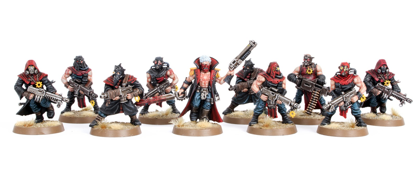 Showcase: Chaos Space Marine Cultists - Tale of Painters
