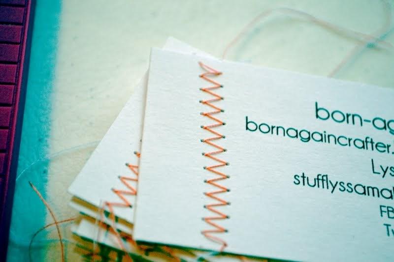 lyssa beth handmade business cards