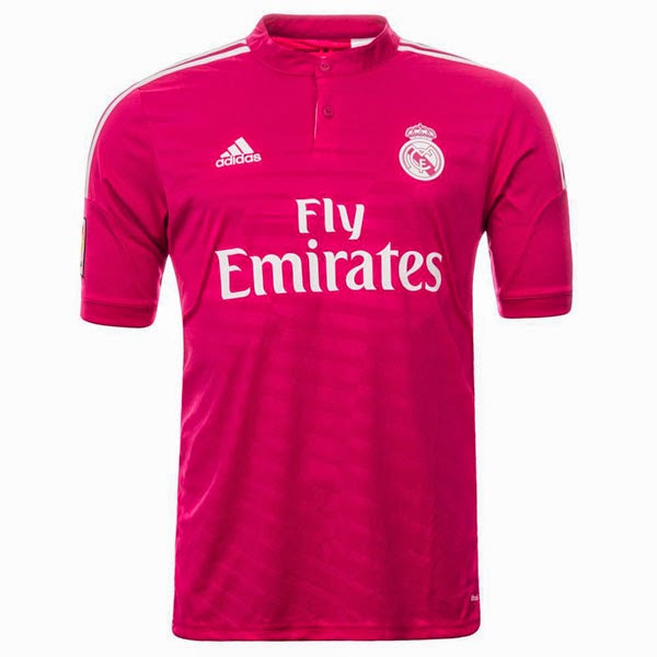 Camiseta Real Madrid 2014 2015 - 2ª Equipación color Fucsia - Hombre ... 09646d13ebe57