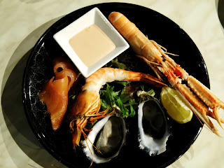 Waterfront Port Melbourne seafood platter