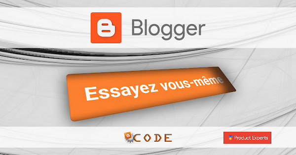 Bouton Try It Yourself sur Blogger Code PE