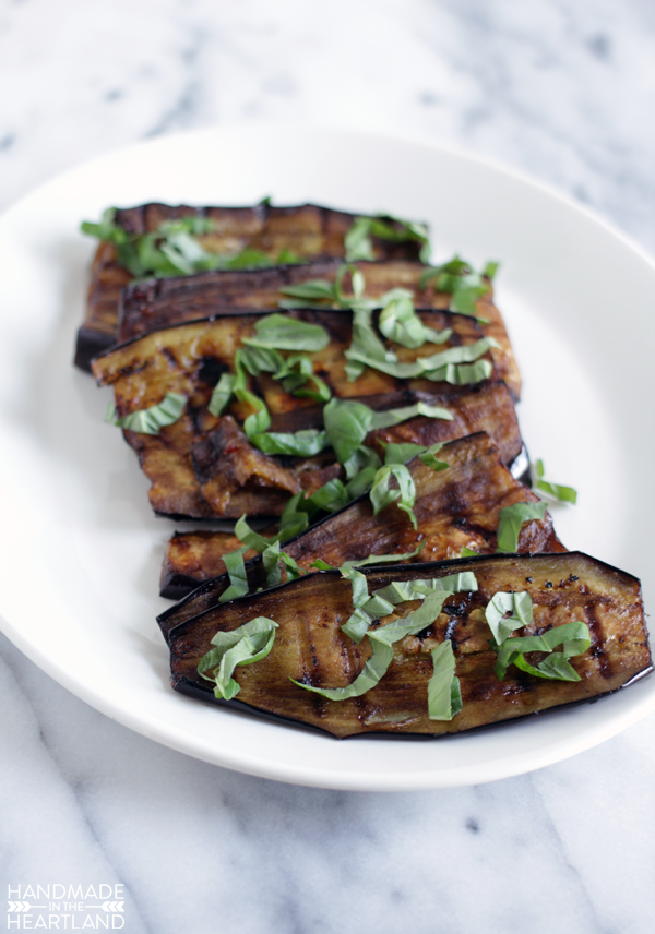 great grilling recipe for vegetarians!