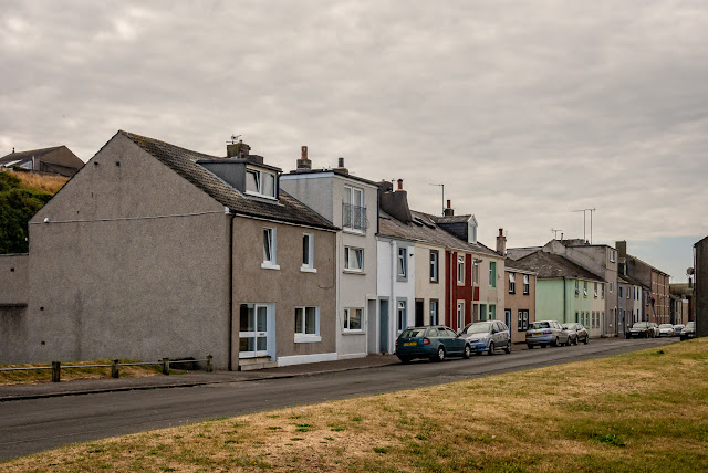 Photo of the row of terraced houses I was asked to photograph