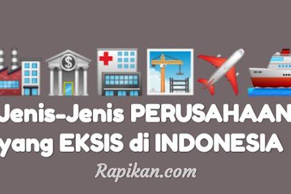 Jenis-jenis Perusahaan yang ada di Indonesia