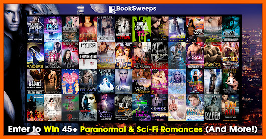 Celebrate your love of #paranormal & sci-fi #romance with @BookSweeps and enter to win more than 48 FREE ebooks!