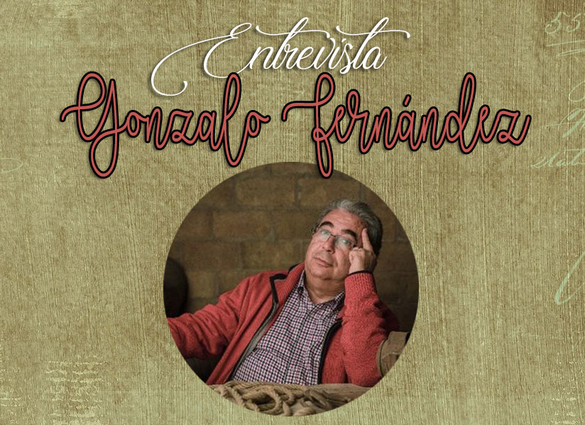 """Entrevista: Gonzalo Fernández. Autor de: """"La Gata Colorada""""."""