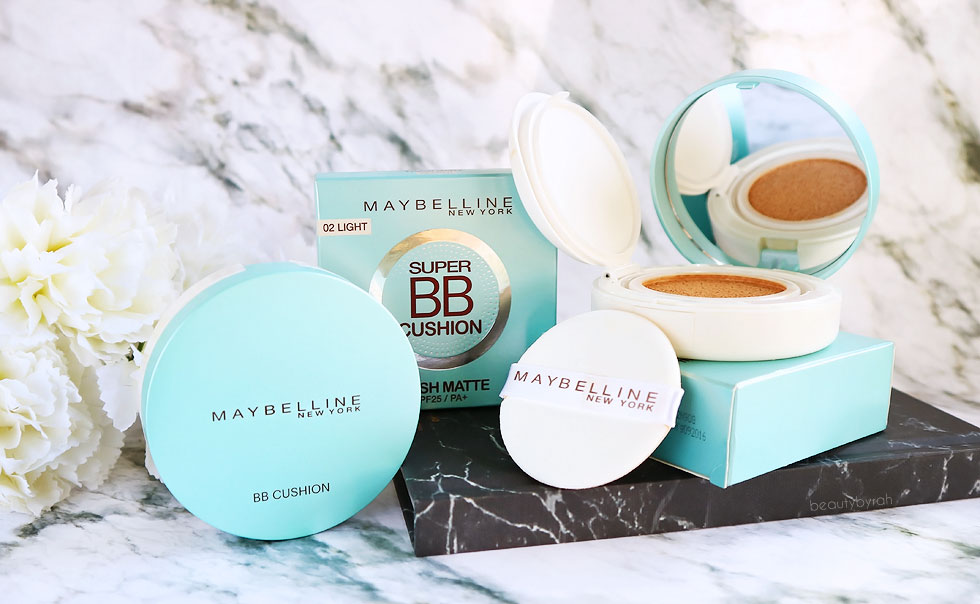 Maybelline Fresh Matte Super BB Cushion Review